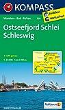 Ostseefjord Schlei - Schleswig: Wanderkarte mit Radrouten. GPS-genau. 1:35000 (KOMPASS-Wanderkarten)