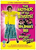 Mrs Brown's Boys & Brendan O'Carroll 12 Disc Collector's Edition, Includes The Original RTE Mrs Brown's Boys 7 Disc Series, Bloomers Outtakes from the Mrs Brown's Boys series and The Stand up Collection 4 Disc set-