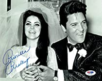 PRISCILLA PRESLEY PP 8x10 MOUNTED SIGNED AUTOGRAPH PHOTO ELVIS