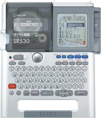【Amazonの商品情報へ】KING JIM ラベルライター テプラ PRO SR530