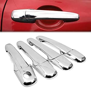 Triple Chrome Plated Side Door Handle Cover Trims 8pcs For 2006 2010 Ford Fusion