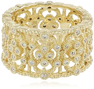"Judith Ripka ""Laurel"" Band Ring, Size 6"