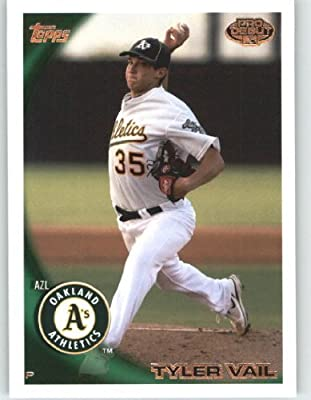 2010 Topps Pro Debut #320 Tyler Vail - Oakland Athletics - MiLB (2010 MLB Draft Pick / Prospect / Rookie Card) Trading Card in a Screwdown Case!