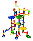 Marble Run – Edushape Marbulous Marble Run – 82 Pieces plus Bonus of 50 Marbles – Total of 132 Pieces