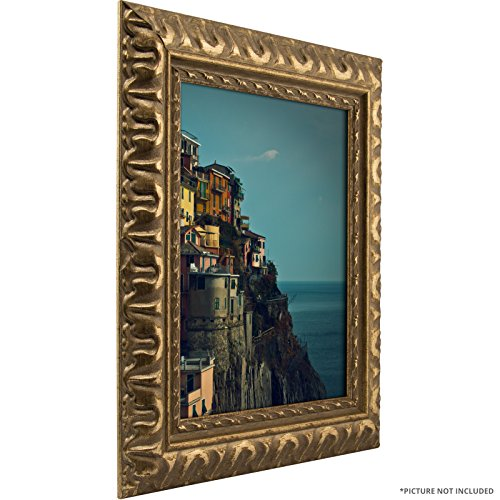 Craig Frames Bravado Ornate Antique Bronze Picture Frame, 11 by 17-Inch (Frames Vintage compare prices)