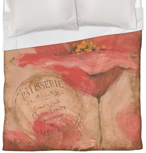 Coral Duvet Cover Queen front-1033278
