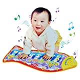 Fish Animal Music Mat Touch Kick Play Fun Baby Piano Toys For Kid Childs Gift