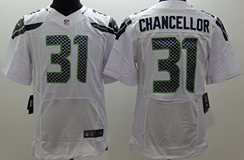 Men's #31 Chancellor On-field Road Jersey,White Size 48 PDF Download Free