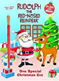 One Special Christmas Eve (Rudolph the Red-Nosed Reindeer) (Paint with Water):  One of the Christmas painting books