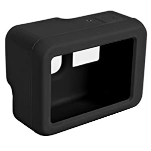 FINENIC Protective Case for Gopro 7 Protect GoPro Camera Inside Against Dust Scratches and Light Shocks Silicone Protective Cover Case and Lens Cap Protector Cover for GoPro Hero 5//6//7 Black