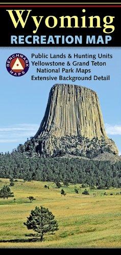 Benchmark Wyoming Recreation Map (Benchmark Maps: Wyoming)