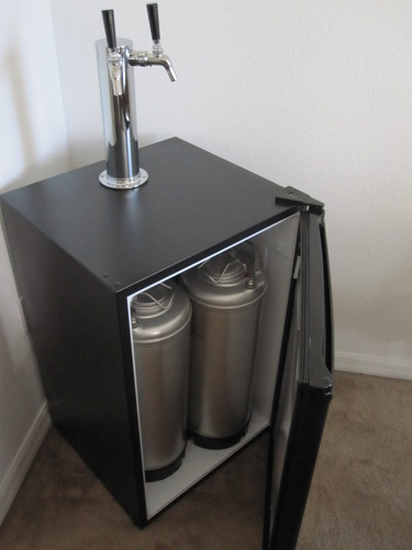 My Battle To Build My Kegerator Pics Parts List Prices