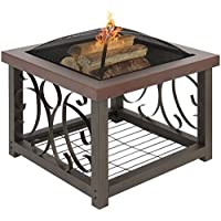 Outdoor Patio Garden Fire Pit Stove Table