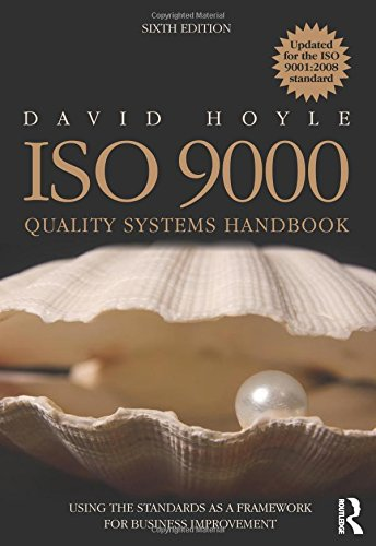 ISO 9000 Quality Systems Handbook,