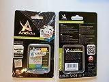 Genuine ANDIDA slim extended battery compatible BX40 o BX50 1250mAh for Motorola RAZR2, V8, V9, V9m, PEBL2 U9, RAZR2 V8, RAZR2 V9M, Q9h, MOTOZINE ZN5, RAZR2 V9x, MOTORAZR2 V9, MOTORAZR2 V9m, Stature i9, MOTO U8, MOTO U9, MOTO V9, MOTO V9m, MOTO V10, MOTO