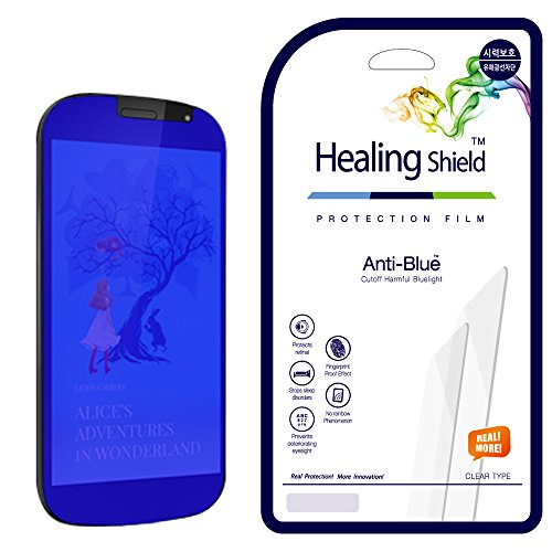 [Healing Shield] Yota Phone 2 專用ブルーライトカット&目の保護液晶保護フィルム前面1枚+背面1枚