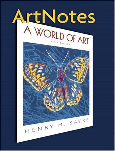 ArtNotes for A World of Art