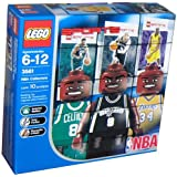 Lego Builder's Kit - NBA Player Figures!! Shaq, Parker, and Walker
