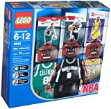 Lego Builder's Kit - NBA Player Figures!! Shaq, Parker, and Walker