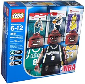 Buy Lego Builder's Kit - NBA Player Figures!! Shaq, Parker, and Walker by LEGO