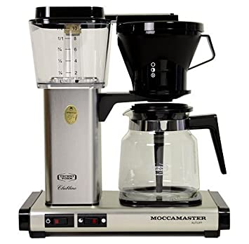 Technivorm Moccamaster KB 741 Coffee Brewer Brushed Silver