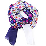 Jonathan Adler Women's House of Cards Colorblock Oblong Scarf, 1 Size