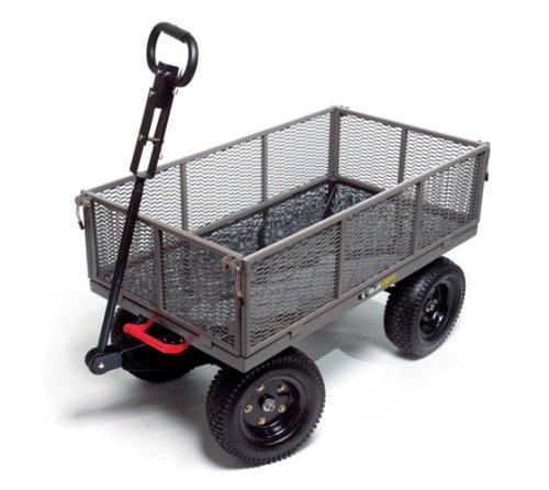 Gorilla Carts GORMP-12 Multi-Use Dump Cart Gray