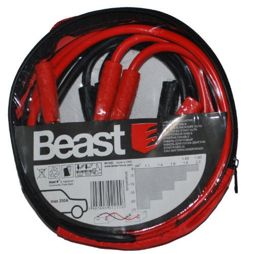 Beast Tools 250a Jump Leads 2M