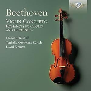 Beethoven : Concerto et Romances pour Violon et Orchestre
