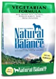 Natural Balance Vegetarian Formula Dog Food, 28-Pound Bag