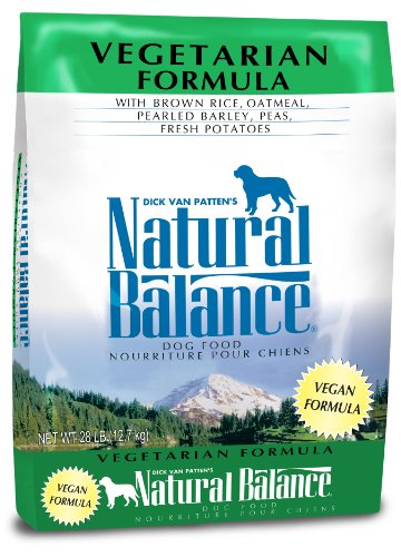 Natural Balance Vegetarian Formula Dry Dog Food, 28-Pound (Dog Food Supplies compare prices)
