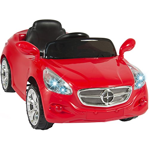 Best Choice Products 12V Ride on Car Kids RC Car Remote Control Electric Battery Power with Radio & MP3, Red (Battery For Car Control Remote compare prices)