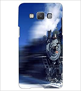 PrintDhaba Train D-5062 Back Case Cover for SAMSUNG GALAXY A5 (Multi-Coloured)