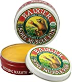 Badger Balm Organic Sore Muscle Rub Original Balm 56g