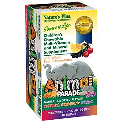 Nature's Plus - Childrens - Animal Parade Assorted 90 Chewables