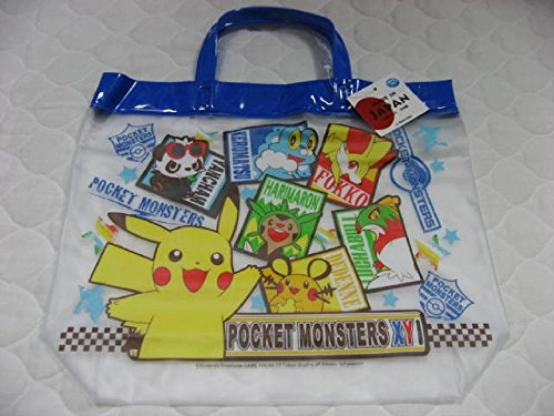 Maruyoshi Pokemon XY (blue) pool bag beach bag tote bag (with WAIWAI Japan's original gift!)