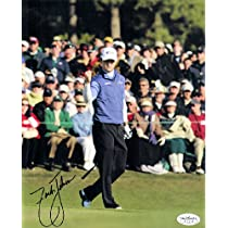 2007Masters Champion Zack Johnson Autographed 8x10 Photo Jsa