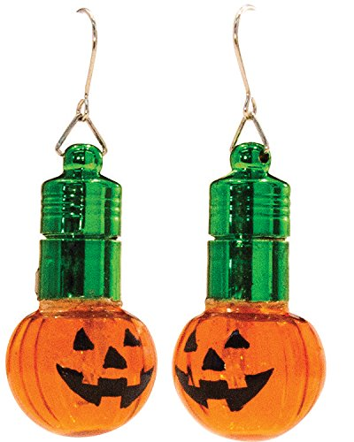 D&D Distributing Blinking Halloween Earrings