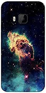 Snoogg Meteorite Space Designer Protective Back Case Cover For Htc One M9