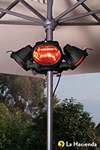 Heatmaster U3R20 2.0KW Popular Umbrella Mount Infrared Heater