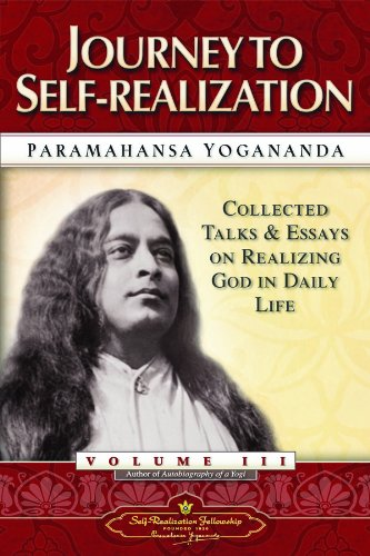 Journey to Self-Realization - Collected Talks and Essays Volume 3087612435X : image