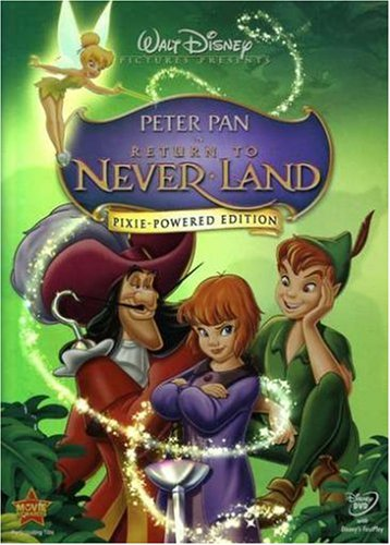 Cover art for  Peter Pan in Return to Never Land (Pixie-Powered Edition)