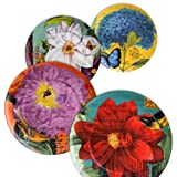 Waechtersbach Accents Impressions Plates, Assorted, Set of 4 - CLEARANCE