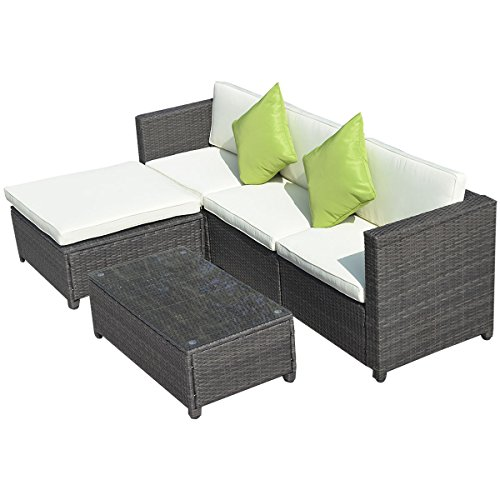 5pc-Outdoor-Patio-Sofa-Set-Sectional-Furniture-Pe-Wicker-Rattan-Deck-Couch-Brown
