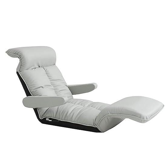 Lazy sofa cubo singolo soggiorno camera da letto poltrona multifunzionale sedia pieghevole donna incinta alimentazione sedia ( Colore : Beige )