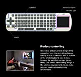 RC12 Wireless 2.4G Fly Air Mouse Keyboard