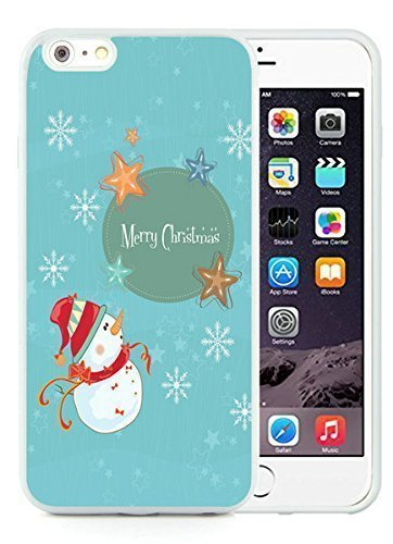 Customized iPhone 6 Plus Case,Merry Christmas White iPhone 6 Plus 5.5 TPU Case 16