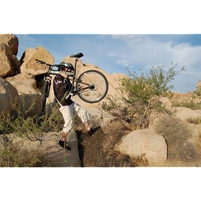 """SwissBike LX Aluminum Folding Mountain Bike (18"""" Fram) _Matt Black 51y%2BP3kxQ3L._SS400_"""