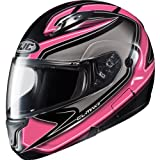 HJC Zader Women's CL-MAX II Street Bike Motorcycle Helmet - MC-8 / Medium
