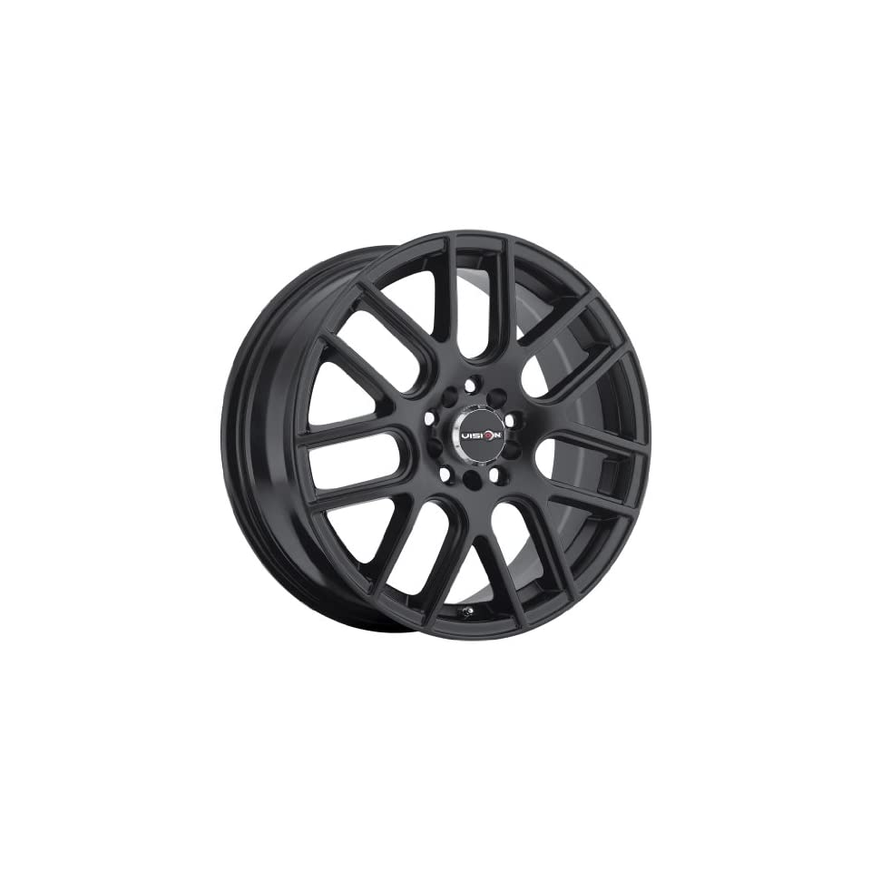 Vision Cross 426 Series Matte Black Wheel (15x6.5/5x100mm)